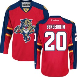 Adult Premier Florida Panthers Sean Bergenheim Red Home Official Reebok Jersey