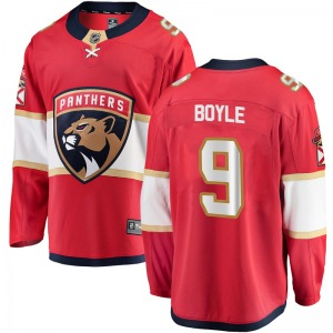 Adult Breakaway Florida Panthers Brian Boyle Red Home Official Fanatics Branded Jersey