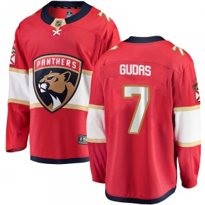 Youth Breakaway Florida Panthers Radko Gudas Red Home Official Fanatics Branded Jersey